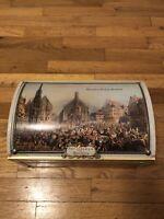 E. Otto Schmidt Nurnberg Tin Box Norinberga Germany Vintage- EXC