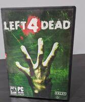 Left 4 Dead PC DVD-ROM Game rated M valve corporation 2003 zombie apocalypse