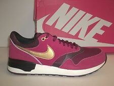 Nike Size 10 M Air Odyssey Red Leather Running Sneakers New Mens Shoes
