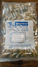 Bag of 100 Times Fiber TFC-QC2QS-59U-3 Compression F Connectors