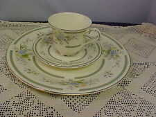 Royal Doulton Adrienne H5081 Romance Dinner Plate Cup and Saucer Good Condition
