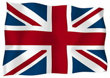 Sticker decal vinyl decals national flag car ensign bumper uk english union jack