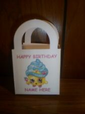 Shopkins Birthday Party pack 12 Favor Boxes Bags Free Personalization