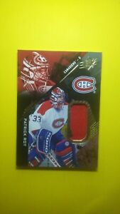 2017-18 Upper Deck SPX Materials Patrick Roy #22 Montreal Canadiens JERSEY RED