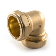 NEW Brass Plumbing, Compression 28mm x 28mm elbow. LAST TWO!