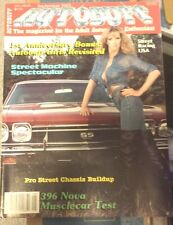 New Uncirculated September 1983 #6 Autobuff Car Magazine Nova Camaro Chevelle
