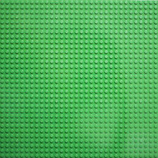 2x BASE PLATE - 32X32 STUDS GREEN BASEPLATE COMPATIBLE WITH ALL Major Brands