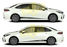 Vinyl Graphic Kit Stripes Car Stickers Auto Door Decal For Toyota Corolla