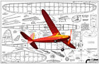 """Model Airplane Plans (FF): Comet SPARKY 32"""" Class C Rubber-Powered"""