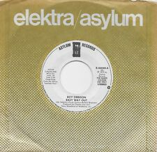 ROY ORBISON  Easy Way Out  rare promo 45 from 1979