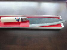 Japanisches Profi Kochmesser Santoku (Klinge:210mm)weiß Stahl-1(Shirogami-1)