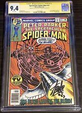 Spectacular Spider-Man 27 SS CGC 9.4 2X Sign STAN LEE FRANK MILLER 1st DAREDEVIL