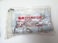 10x Kathrein EMK 21 Koaxstecker Koxialstecker EMK21 273120 2,4/9,5