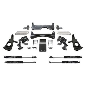 "For Chevy Silverado 2500 HD 11-19 Suspension Lift Kit 6"" x 4"" Raised Torsion"