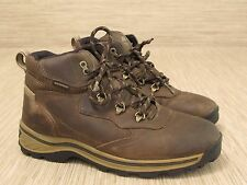 Timberland Brown Leather Boots Men's Size US 6.5 EUR 39 Waterproof Ankle High