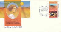 AUSTRALIA 25 JANUARY 1985 AUSTRALIA DAY OFFICIAL FIRST DAY COVER SHS