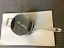 All-Clad  Hard Anodized Nonstick 3.5 Qt Saucepan with Lid