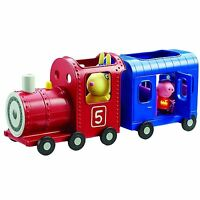 Peppa Pig Perder Conejos Tren Y Carro Parque Infantil Con Figuras Juguete 3+
