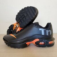 Nike Air Max Plus TN (GS) SE BG Mercurial Black Orange Size 6Y ( AR0005-001 )