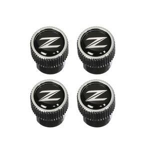 """OEM NEW Genuine Nissan Set  Air Valve Stem Caps """"Z"""" Logo 350Z 370Z  999MB-ZX000"""
