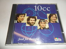CD  10 Cc - Food for Thought