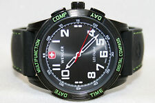 Swiss Army Wenger Nomad Compass Watch 43mm