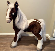 """Hasbro """"Smores� FurReal Friends Large Pony Sit On Ride Horse Works"""