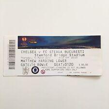 Match Ticket UEFA Europa League  - Chelsea FC v Steaua Bucharest 14 March 2013