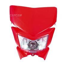 Red Enduro Headlight Fairing Kit For Honda XR600R 1985-2000 XR650L 1993-2014