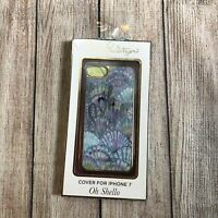 NWT Lilly Pulitzer iPhone 7 Case Hard Cover Oh Shello Serene Blue NIB Holograph