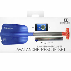 Ortovox Avalanche Secours Kit 3 + Bleu