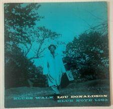 "Lou Donaldson Blue Note 1593 LP ""Blues Walk"" W.63rd DEEP GROOVE Ear RVG 9M CLEAN"