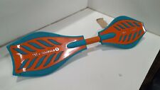 Razor RipStik Brights 2 Wheel Twisty 360 Degree Caster Board, Orange and Teal