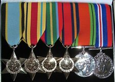 Canadian - British & Commonwealth Campaign Medals Full Size Lot Set WWII WW2