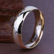 RING mit Elbenschrift aus Titan in Gold Größe 18,2mm Ø 2
