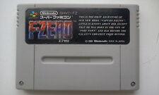 🎌 Cartouche de jeu F-Zero Nintendo Super Famicom version JAP 🎌