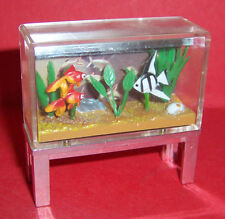 VINTAGE 1970's LUNDBY DOLLS HOUSE FISH TANK AQUARIUM