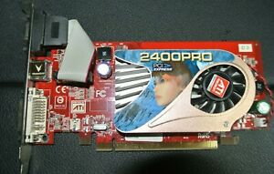 VISIONTEK ATI 2400 PRO SIZE 256MB DMS PCIe GRAPHIC CARD