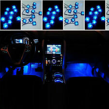Universal BLUE 10 LED Car SUV Accessories Floor Decorative Atmosphere Lamp Light