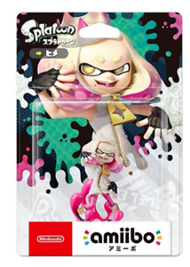 Amiibo Splatoon Pearl Hime Game Figure Toy Switch for Nintendo