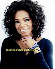 Oprah Winfrey Gloria Gaines The Butler Candid Signed 10 x 8 Autograph UACC RD 96