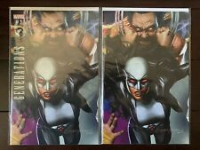 GENERATIONS ALL NEW WOLVERINE WOLVERINE #1 GREG HORN VARIANT + VIRGIN EXCLUSIVE