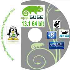 OpenSUSE 13.1 Gnome KDE Xfce & LXDE desktop options 64 bit on one DVD Open Suse