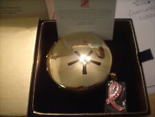 "Estee Lauder Solid Perfume Powder Compact ""Pink Ribbon"" MIB"