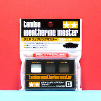 Tamiya #87080 Weathering Master Set B (Snow / Soot / Rust)