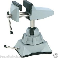 PRO MINI TOOL SOFT JAW VICE UNIVERSAL CLAMP ON HOBBY JEWELER'S BENCH TABLE VISE