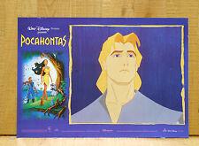 POCAHONTAS fotobusta poster affiche Walt Disney Indian Powhatan John Smith AX3