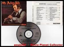 """ACKER BILK """"Stranger On The Shore"""" (CD) 1990"""