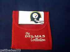 Pittsburgh Steelers  VINTAGE MONEY CLIP  by Golf Masters - Delmas Collection