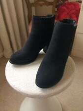 Grey Suede Ankle Boots Size 5